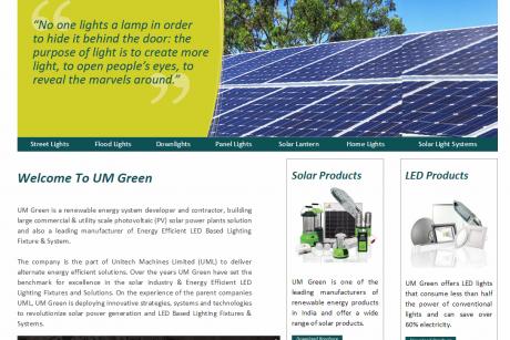 Solar   LED lighting in India   UmGreen.In